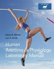 Human Anatomy And Physiology Laboratory Manual Cat Version by Elaine Marieb