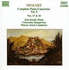 Mozart: Complete Piano Concertos, Vol. 5, Nos 17 & 18, , Very Good Import