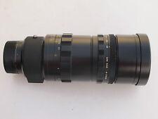 """RARE Leitz Leica 280mm f:4.8 Telyt M Visoflex lens with caps """"LQQK"""""""