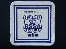 WELCOME TO BENTLEIGH RSS&A CLUB VICTORIA COASTER