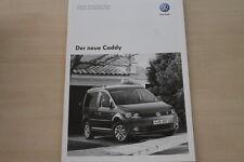 155749) VW Caddy - Preise & tech. Daten & Ausstattungen - Prospekt 11/2010
