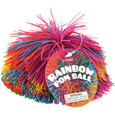 Rainbow Pom Pom Ball ~ Tactile, Sensory Toy, Fidget Ball, Autism Special Needs
