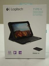 * NEW * Logitech Fold-Up Keyboard for iPad 2 BLUETOOTH Full-Size 920-003544