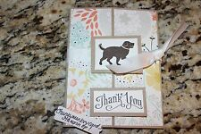 Stampin Up homemade greeting card. Sweet Sorbet Thank you