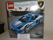 Lego RACERS 8214 Polizia GALLARDO LP 560-4 da collezione NUOVO/New Rarissimo !!