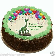 The Good Dinosaur Cake topper edible image icing party REAL FONDANT 646