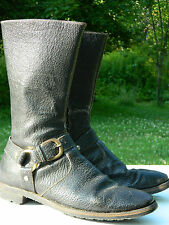 Unknown Brand Harness / Biker Boots / Estimated US Men size: 9 - 9 1/2 / Used