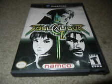 ***SOUL CALIBUR II 2 NINTENDO GAMECUBE GAME W/ CASE***