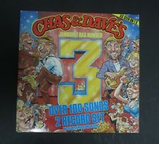 CHAS & DAVE Double Vinyl LP  Jamboree Bag 3,over 100 songs,Incl Songbook,EX+