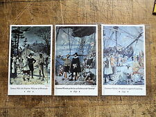 Mutual Life Insurance Co Hoffbauer Military Mural Postcards Boston Ma