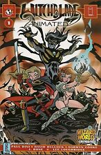 Witchblade Animated Edition # 1 wizard world Chicago