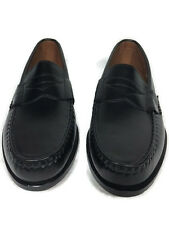 Allen Edmonds Mens Walden Black Leather Loafers R$350