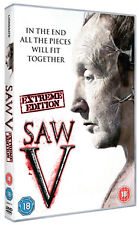 DVD:SAW V - NEW Region 2 UK