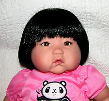 "Darling 20"" Asian Bamboo Ping Lau Reborn Girl Doll"