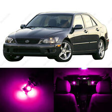 8 x Pink/Purple LED Interior Lights Package For 2001 - 2005 Lexus IS300