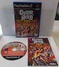Console Game Gioco SONY Playstation 2 PS2 PAL ITALIANO GUITAR HERO AEROSMITH Ita