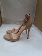 Boohoo Erin Two Part Stiletto - Nude UK Size 5 - Brand New
