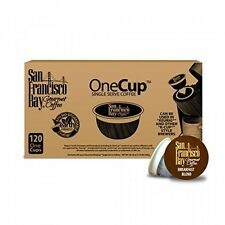 San Francisco Bay OneCup, Breakfast Blend, 120 Single Serve Coffees, New
