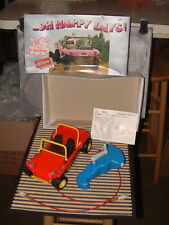 VINTAGE SCHUCO HAND CRANKED CLOCKWORK DUNE BUGGY GOES FORWARDS & REVERSE W/BOX!