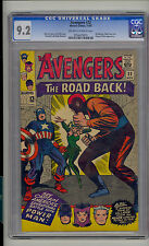Avengers #22 CGC 9.2 NM- Unrestored Marvel 2nd Power Man OFF-WHITE to WHITE Pgs