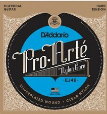 D'Addario EJ46  Pro-Arté Hard Tension Classical Guitar Strings Nylon
