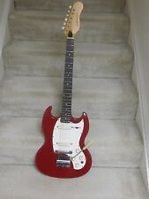 Vintage Kalamazoo KG-2 electric guitar-circa 1968,red finish,original case,nice