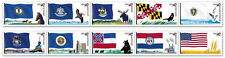 US 4302b Flags of our Nation 44c PNC strip set 3 MNH 2009