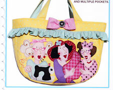 PATTERN - Lipgloss Girls Medium Carryall - applique bag PATTERN - Red Brolly