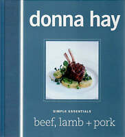 Beef, Lamb and Pork by Donna Hay (Hardback, 2008)