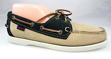 NIB SEBAGO SPINNAKER DOCKSIDES Boat Shoes Oxford Moc Loafers Womens Shoes 7.5 38