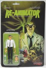 "Monstarz Re-Animator Herbert West 3.75"" Scale Retro Action Figure NIP"