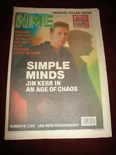 NME 1989 FEB 4 SIMPLE MINDS NEW ORDER SIMPLY RED NEW MODEL ARMY MORRISEY BLAZE