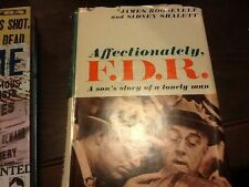 Affectionately, F. D. R.; Sidney Shalett & James Roosevelt; HC 1959 1st edition