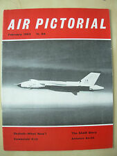 AIR PICTORIAL MAGAZINE FEBRUARY 1963 SKYBOLT BOMBER