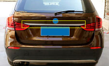 For BMW X1 E84 Rear Trunk Lid Cover Molding Trim Stainless Steel 2009-2015