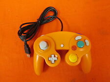 USB Wired Controller GameCube Gamepad Orange For PC MAC Linux Brand New 7335