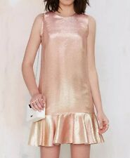 NASTYGAL Mermaid Dress Fox People Love & Stone Cold Free And For Lemons Metallic