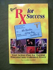 Your RX for Success by Luella Gunter (1996, Paperback, Signed)