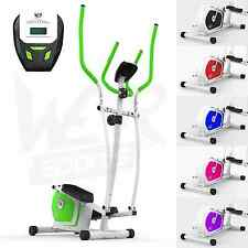 Elliptical Cross Trainer & Exercise Bike 2-IN-1 Home Cardio Workout Machine