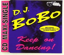 Maxi CD - D.J. BoBo - Keep On Dancing! - A4229
