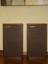 Pair of Beautiful Vintage Cerwin Vega AT-12 Floor Speakers