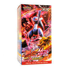 "Pokemon 150 Cards XY Break ""Red Flash"" Booster Box 30 Packs / Korean Version"
