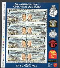 Isle of Man MNH 1994 The 50th Anniversary of the D-Day M/S