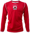 Olorun Wales Football Supporters Shirt - Red/White - Y-XL
