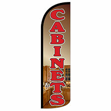Cabinets Extra Wide Windless Swooper Flag