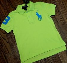 POLO RALPH LAUREN TODDLERS/KIDS BOYS BRAND NEW DRESS T-SHIRT/TOP Size 5T, NWT