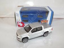 Volkswagen Amarok Silver Die Cast Metal Model Car Pickup Scale 1:43 Burago New
