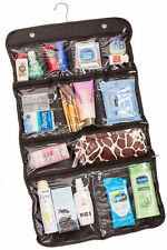 Hanging Travel Cosmetics Travel Toiletry Bag, 10 Pocket Packing Storage Kit