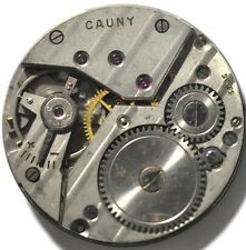 678# VINTAGE CAUNY POCKET WATCH MOVEMENT FOR PARTS/REPAIRS
