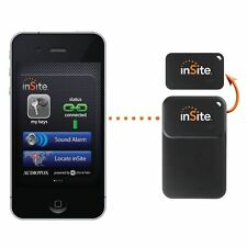 InSite Bluetooth GPS tracker Anti-Loss Alarm Ultra Thin for Keys, Wallet, A